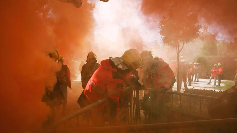 Toxische Wolke bedroht Ortschaften bei Madrid: 34.500 Einwohner müssen zu Hause bleiben