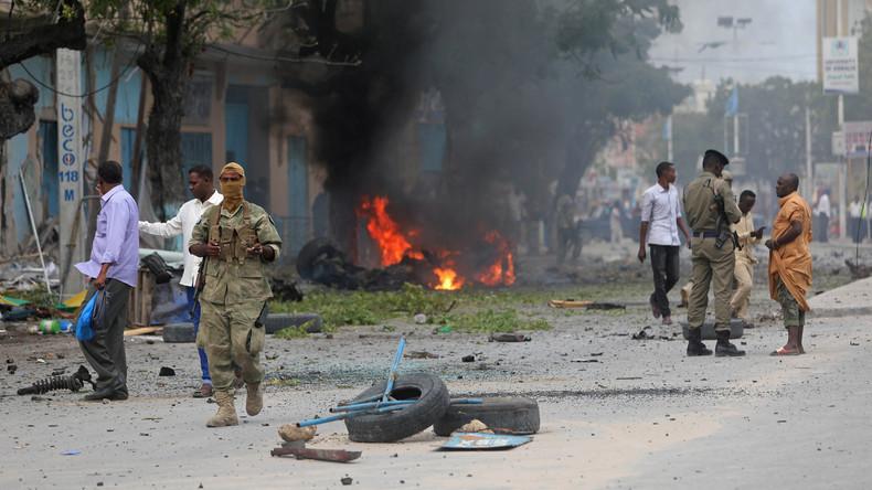 26 somalische Armeeangehörige sterben bei Terrorattacke