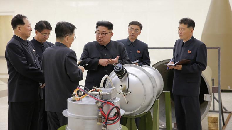 Nordkorea will eine raketenfähige Wasserstoffbombe getestet haben