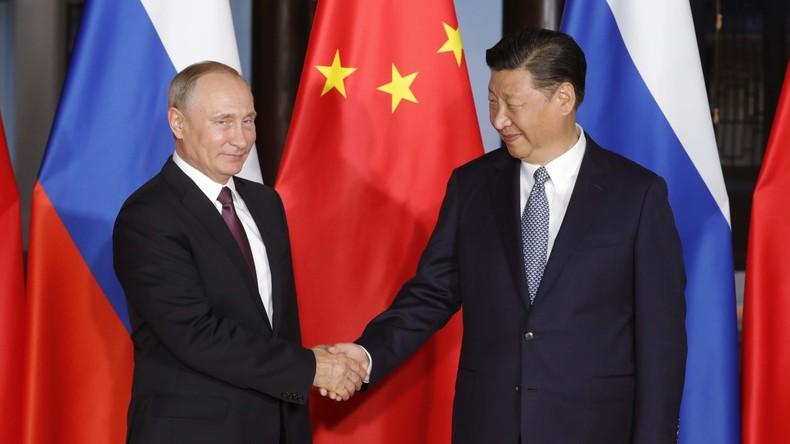 Wladimir Putin und Xi Jinping verhandeln am Rande des BRICS-Treffens in Xiamen