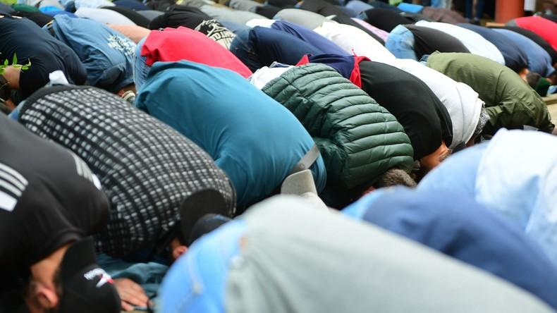 Hunderte Muslime demonstrieren in Moskau für Rohingyas in Myanmar