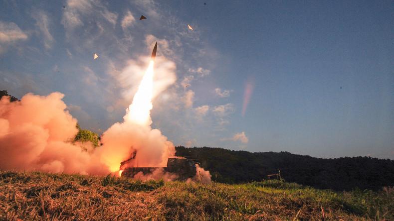 Antwort auf Nordkoreas Provokation: Südkorea testet  erfolgreich Raketen im Japanischen Meer [VIDEO]