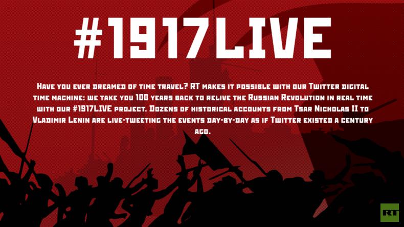 Britische Regierung lässt Twitter-Account von RT International zur Russischen Revolution sperren