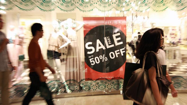Nichts kann Shopping stören: Chinesin bringt Baby zur Welt und geht weiter einkaufen