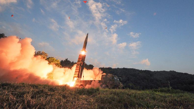 Seoul und Washington heben Gewichtsbegrenzungen für Sprengköpfe in Südkorea auf