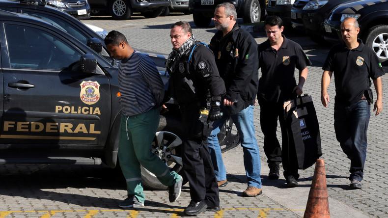 Brasilianische Polizei kappt Drogenroute nach Europa: 80 Schmuggler in Haft