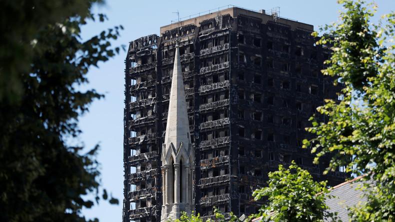 20 Selbstmordversuche unter Überlebenden nach Brand in Grenfell Tower