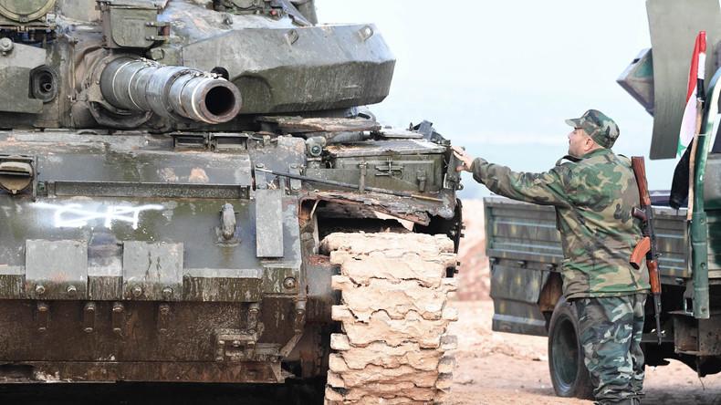 Syrische Armee steht kurz vor Befreiung von Deir ez-Zor in Ostsyrien - USA starten eigene Offensive