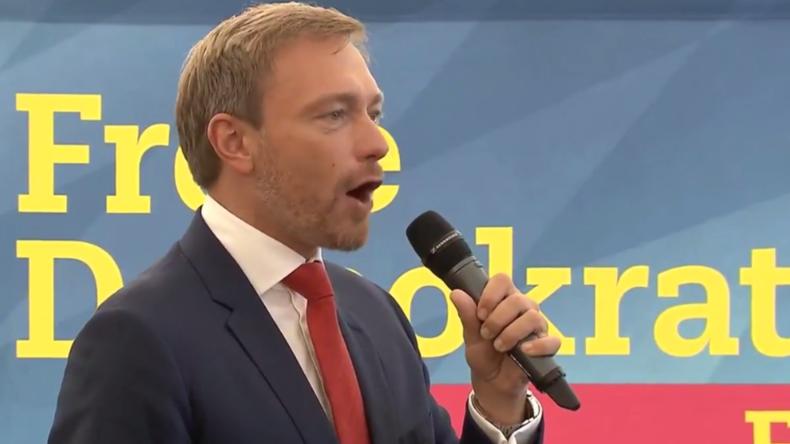 """""""Überall in der Welt lachen sie über uns"""" - Lindner zu verfehlter Politik und Schulz-Merkel-Duell"""