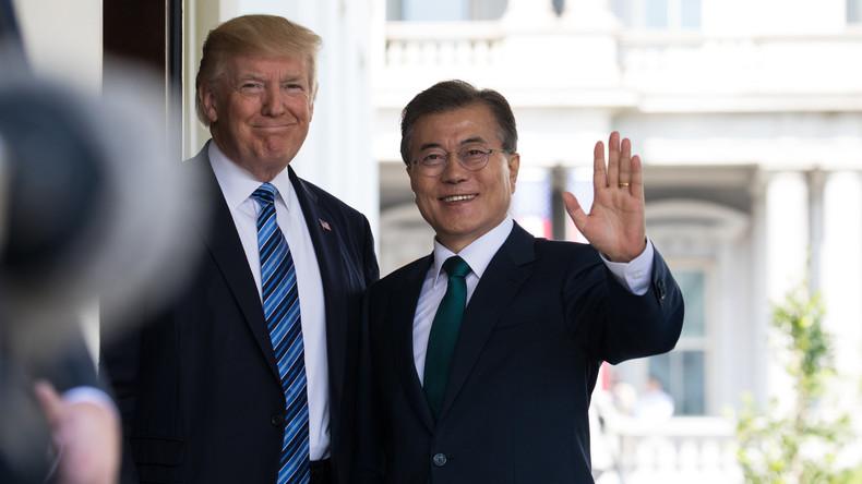 Lukratives Geschäft: Trump sagt milliardenschwere Waffenlieferungen an Südkorea zu