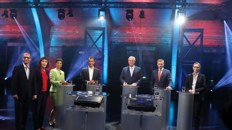 TV-Wahlkampf: Fünferrunde deutlich spannender als Zweierduell