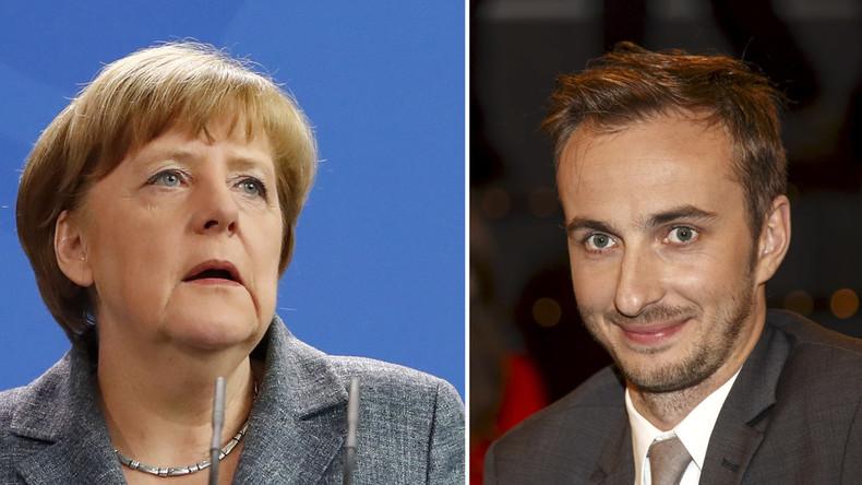 Nicht zum Lachen: Böhmermann will Bundeskanzlerin Angela Merkel verklagen