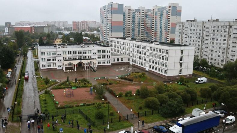 Schießerei in Schule bei Moskau - Lehrer und drei Schüler verletzt
