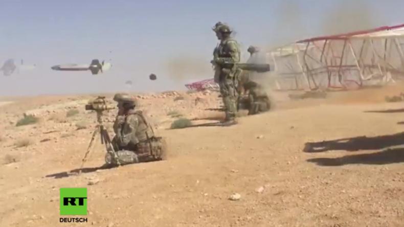 Entscheidungsschlacht gewonnen: Russische Spezialeinheiten kämpfen mit Syrern an Deir-ez-Zor-Front