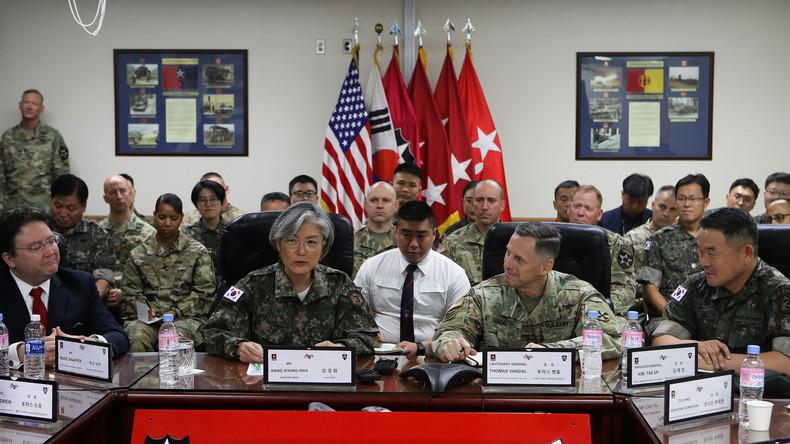 Putin: Es droht planetarische Katastrophe wegen militärischer Nordkorea-Hysterie