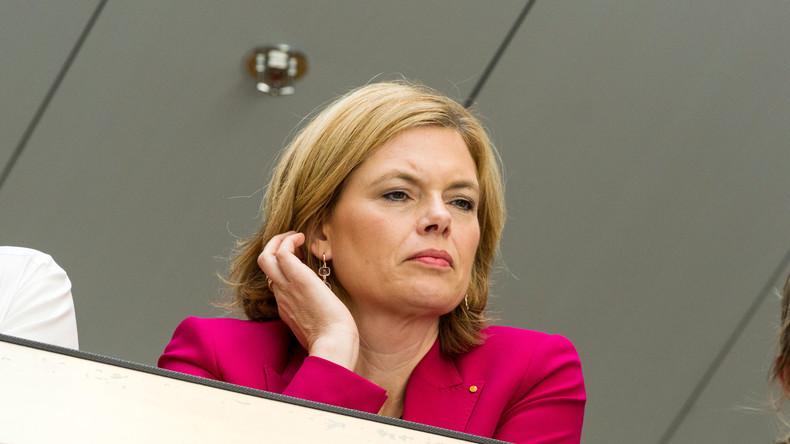 """CDU-Vize-Vorsitzende Julia Klöckner: Hackerangriff auf mein Büro """"mit Grüßen aus Russland"""""""