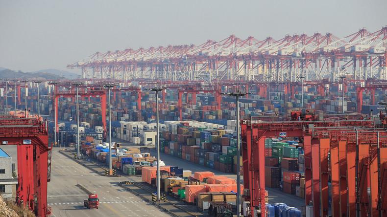 Handelsumsatz zwischen Russland und China im ersten Halbjahr 2017 um 35 Prozent gewachsen