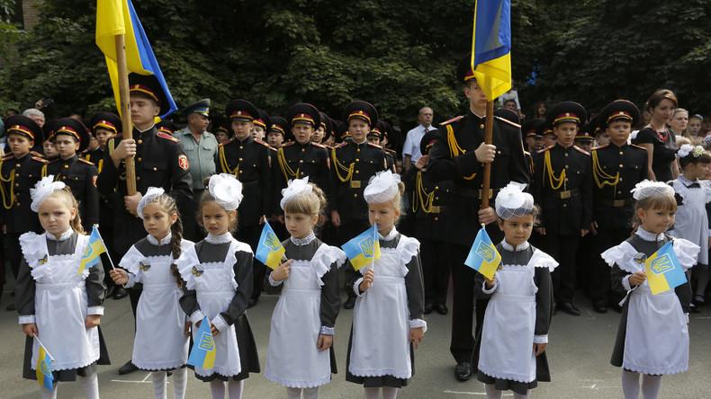 Ukrainisierungspolitik: Parlament verbietet russische Sprache in Schulen ab 2020