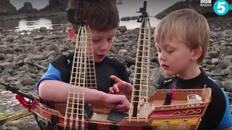 Spielzeugschiff segelt von Schottland nach Skandinavien [FOTOS]