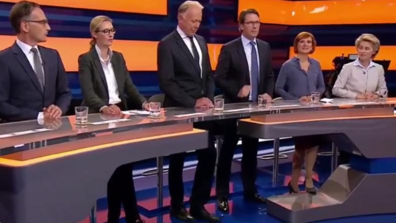 AfD-Spitzenkandidatin Alice Weidel verlässt genervt Talkrunde im ZDF