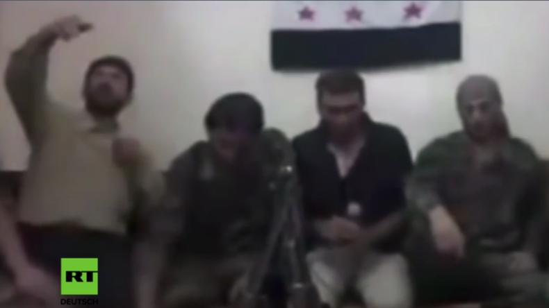 """Syrien: Dumm gelaufen - """"Moderate Rebellen"""" machen Selfie mit Handy-Bombe und fliegen in die Luft"""