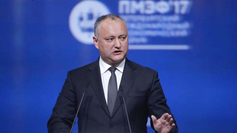 Moldawiens Präsident Igor Dodon stoppt Teilnahme seiner Armee bei NATO Manövern