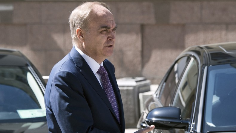 """Botschafter Antonow: """"USA und Russland sollten diplomatischen Krieg beenden und Arbeit beginnen"""""""