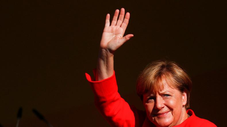 LIVE: Merkel auf Wahlkampftour 2017 in Finsterwalde