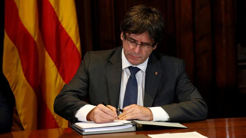 Katalanisches Parlament ebnet Weg für Referendum über Unabhängigkeit