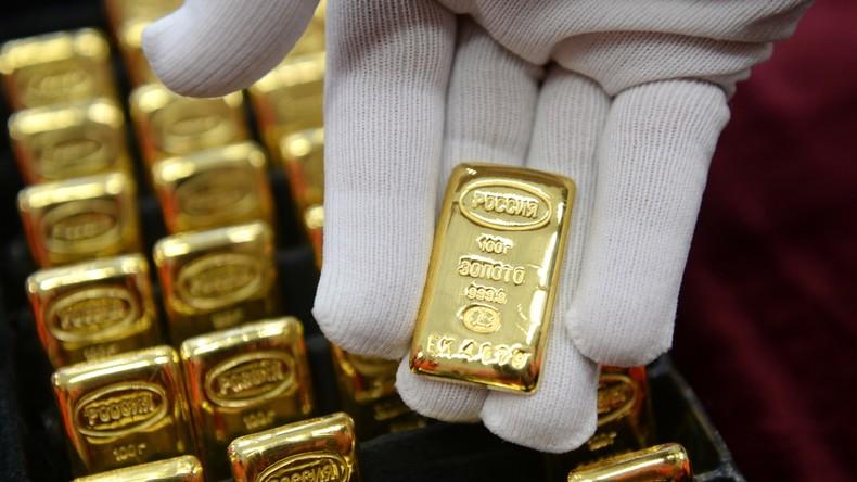 Zwei Kilo Gold in Schuhen: Russlands Zoll nimmt Schmuggler aus China fest