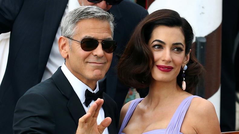 George Clooney bietet Flüchtling aus Irak neues Zuhause