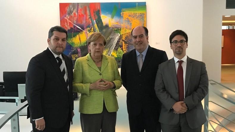 EU-Staaten empfangen Venezuelas Oppositionspolitiker als Staatsgäste und drohen mit Sanktionen