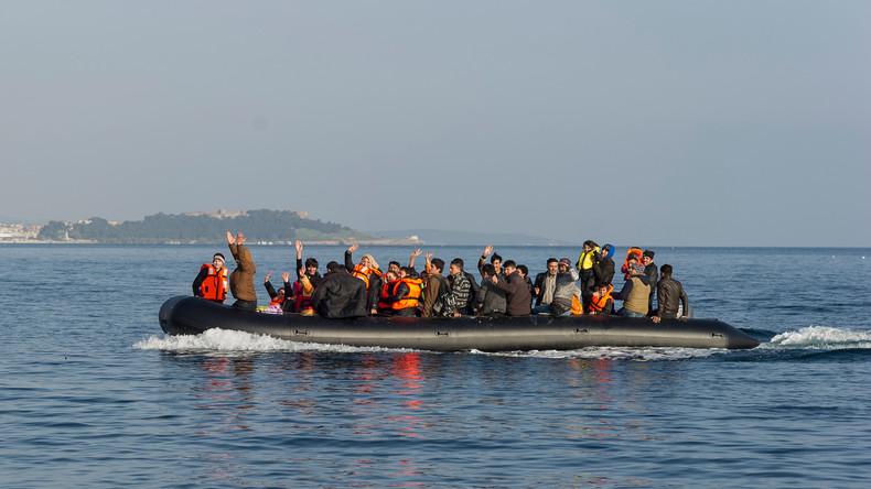 Griechische Küstenwache rettet Dutzende Migranten vor Kreta