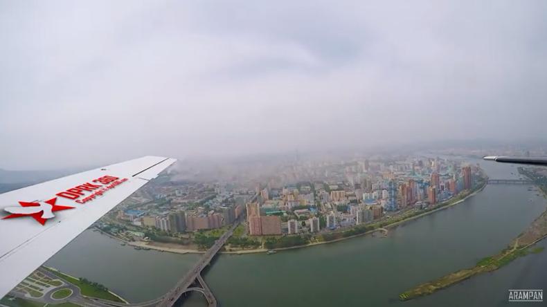 Spannende Aufnahmen aus Nordkorea: Pjöngjang aus der Luft und Fotos aus dem Alltag