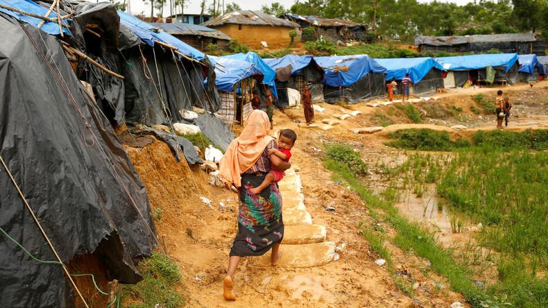 Türkischer Außenminister besucht Rohingya-Flüchtlingslager in Bangladesch