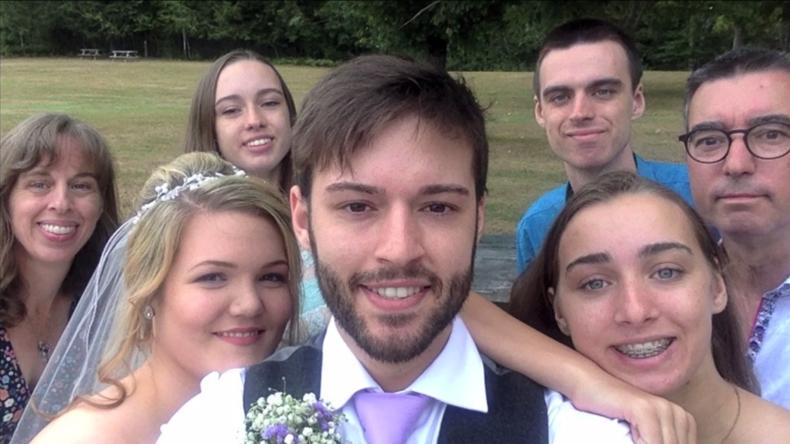 Neun Jahre im Selfie-Zeitraffer