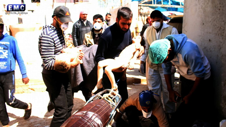 """RT Deutsch dekonstruiert UN-Bericht zu angeblich """"bewiesener Giftgasattacke"""" durch syrisches Militär"""