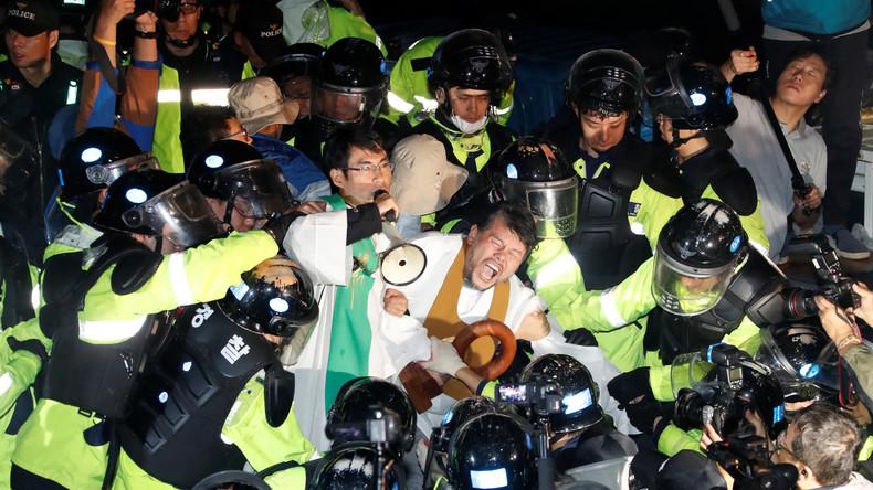 Südkorea: US-Raketenabwehr trotz heftiger Proteste stationiert