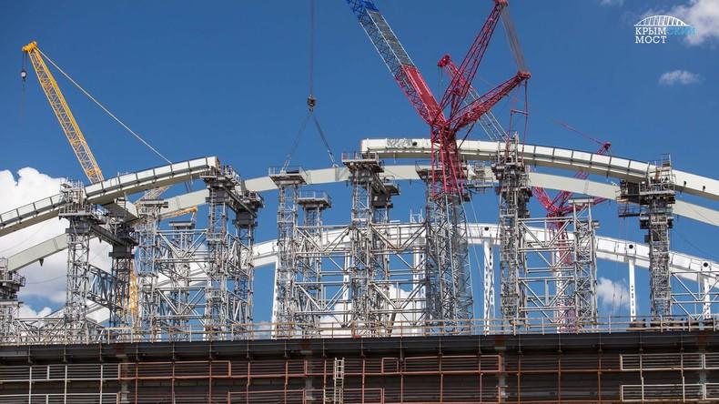 Ukrainische Hetzseite Mirotworez veröffentlicht Personaldaten von Bauarbeitern der Krim-Brücke