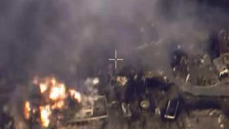 Russischer Luftangriff zerstört Bunker mit hochrangigen IS-Kommandanten in der Nähe von Deir ez-Zor