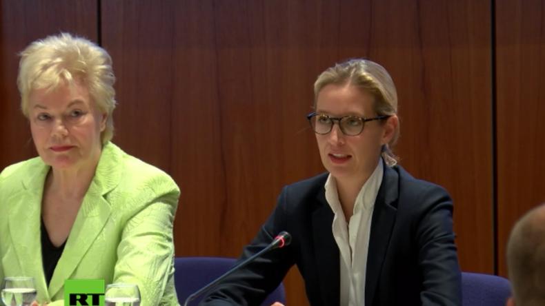 AfD-Spitzenkandidatin Alice Weidel: Darum habe ich die ZDF-Talkrunde frühzeitig verlassen
