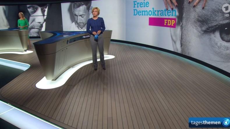 """Programmbeschwerde: """"ARD agiert als Werbeagentur für FDP und Spitzenkandidat Lindner"""""""