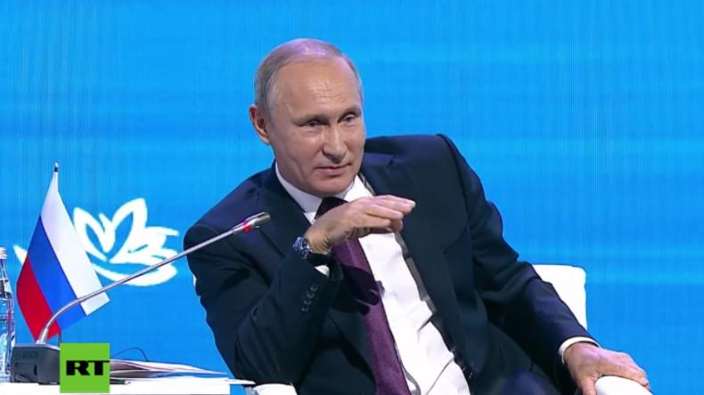 """Vom Freund zum Feind: Putin wähnt US-Außenminister Tillerson """"in schlechte Gesellschaft geraten"""""""