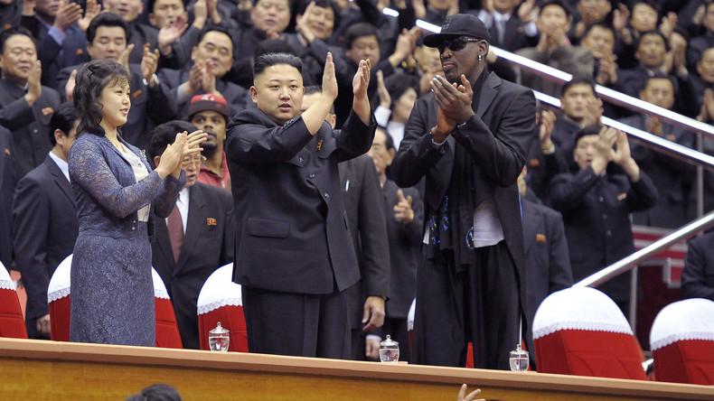 Rettung naht: Dennis Rodman will im Konflikt zwischen Trump und Kim vermitteln