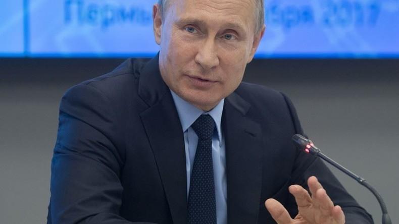 Putin: Russland muss aus Sicherheitsgründen von ausländischen Software-Produkten abrücken