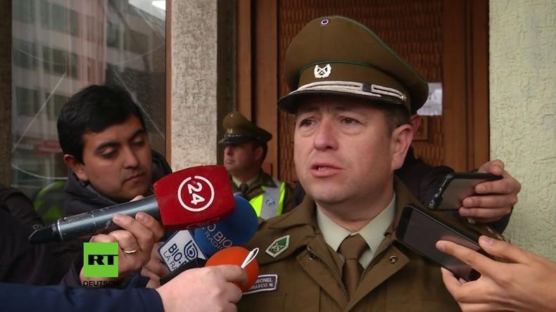Chile: Verhaftungen bei Demonstration für Rechte von Indianer