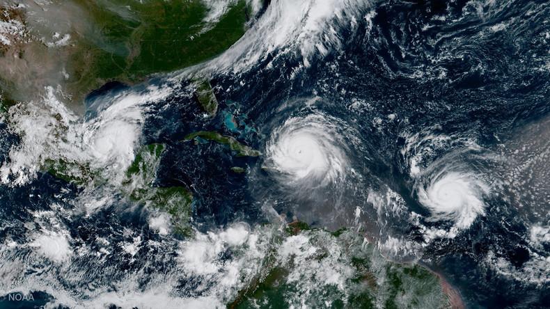 "Hurrikan ""José"" wird schwächer – Sturm ""Katia"" flaut ab"