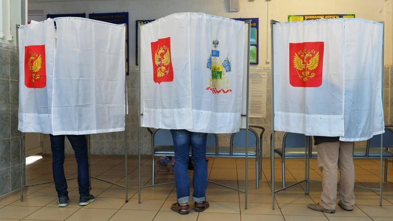 Russen wählen landesweit Kommunalabgeordnete und Gouverneure