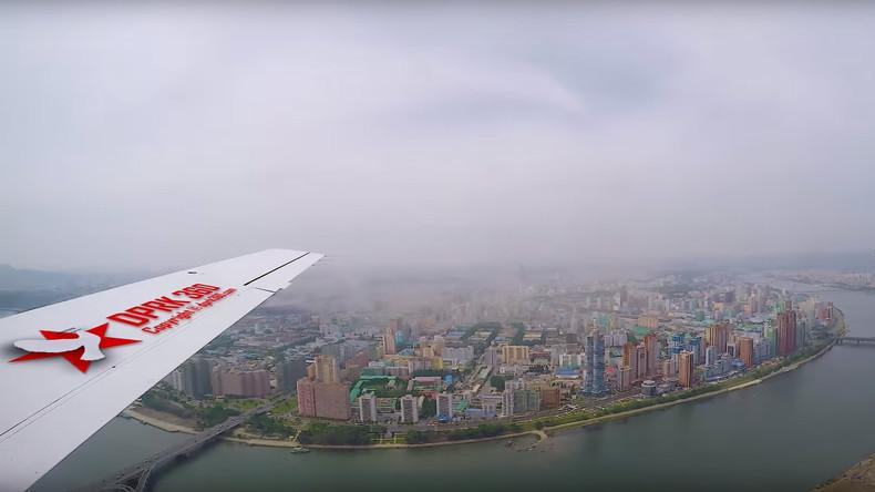 Pjöngjang aus der Vogelperspektive: Behördliche Gunst für Fotokünstler aus Singapur [VIDEO]