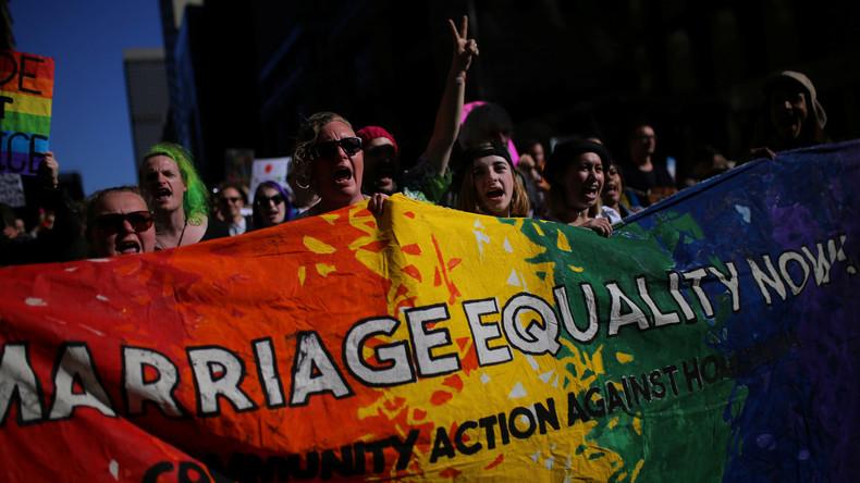 Zehntausende demonstrieren in Australien für Homo-Ehe